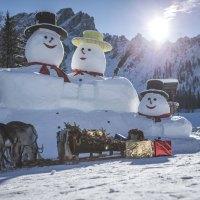 Ein Weihnachtsskigebiet – Gibt es das?