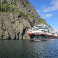 Hurtigruten stellt drei neue Hybrid-Expeditionsschiffe vor