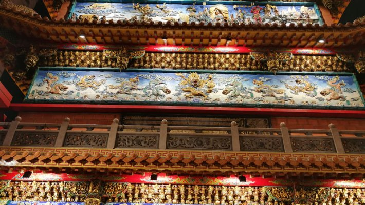 Tradition trifft auf Modernes in Taipeh