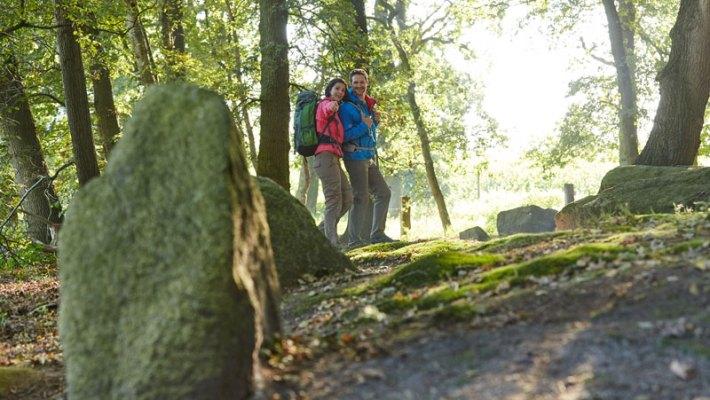 Wandern mit Flachlandgarantie im deutsch-niederländischen Grenzgebiet