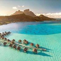 Reisen in Südseeparadies der Inseln von Tahiti erlaubt