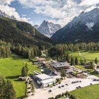 Lässiger Lifestyle in den Dolomiten