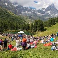 Livemusik vor Traumkulisse im Aostatal