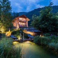 Neues Waldbadritual auf dem längsten Saunapfad der Alpen