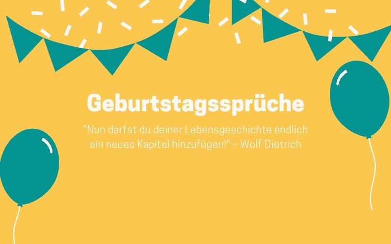 Geburtstagsspruche 117 Schon Lustig Kreativ Kurz 2020