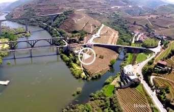 Maravilhoso! Régua e Douro vistos do céu!
