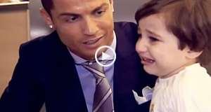 O lado humano de Cristiano Ronaldo
