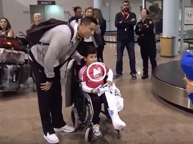 Cristiano Ronaldo e as Crianças