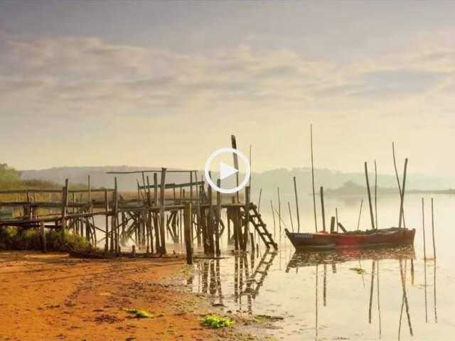 A beleza da Lagoa de Óbidos