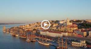 Lisboa, os mais belos veleiros do mundo