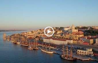 Lisboa, os mais belos veleiros do mundo