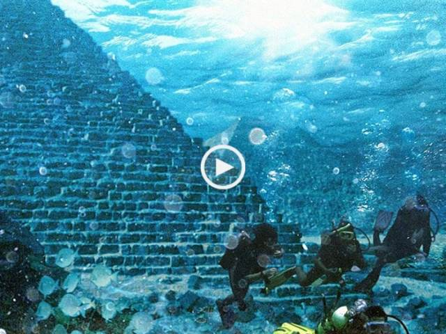 Descoberta Pirâmide subaquática nos Açores? (RTP Açores)