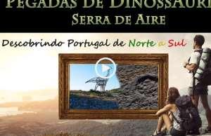 Pegadas de Dinossáurios em Portugal!
