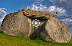 Casa do Penedo, a mais estranha do Mundo