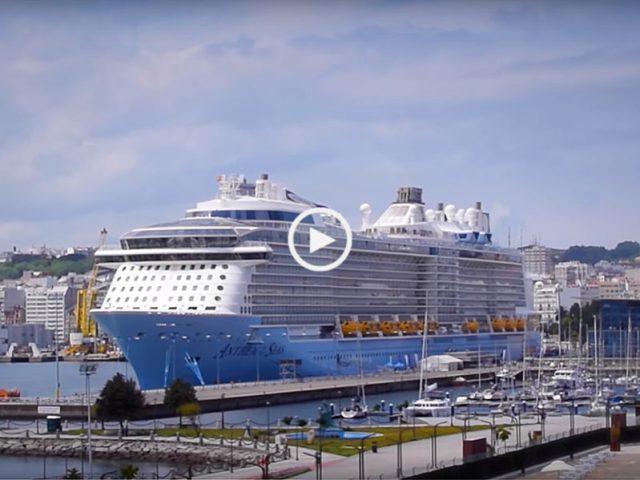 O navio mais tecnológico do mundo