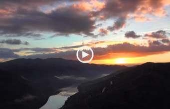 Douro, deslumbrante nascer do sol