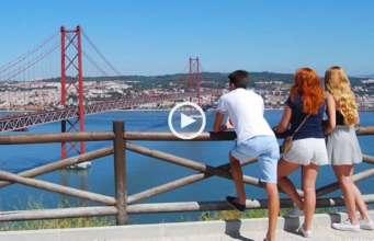 Encantadores Miradouros de Lisboa!