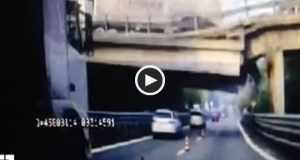 Itália: Colapso de ponte provoca morte de condutor