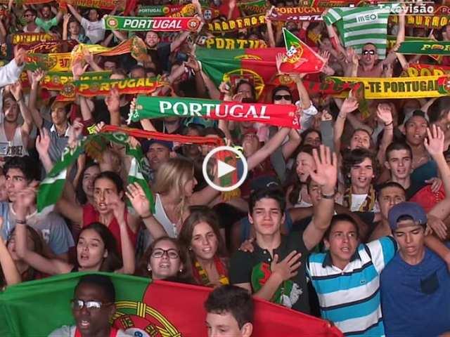 Arrepiante! Obrigado, Portugal!