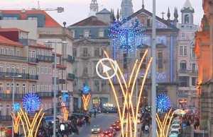 Inauguração das iluminações de Natal no Porto!