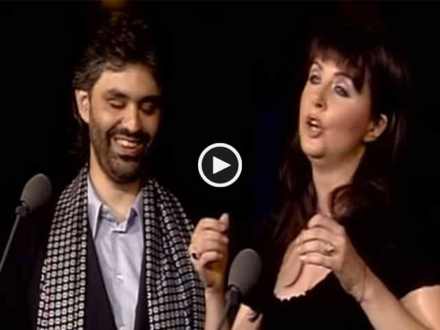 Andrea Bocelli e Sarah Brightman