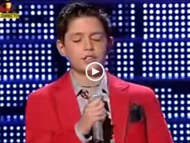 Que miúdo talentoso! José Geadas