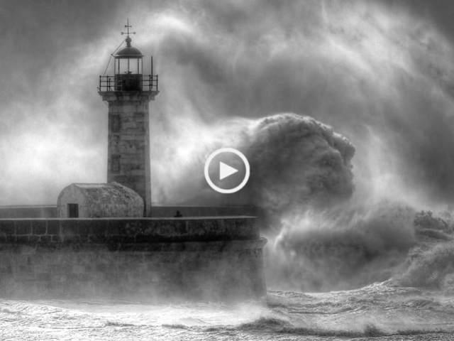 Às Portas do Inferno (tempestade no Porto)
