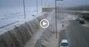 A Tempestade Hércules na Costa Portuguesa