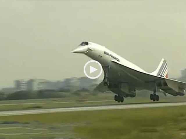 O Concorde em Lisboa, 1992!