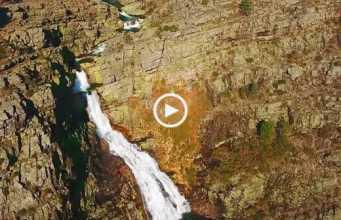 Fantástica Cascata das Fisgas de Ermelo