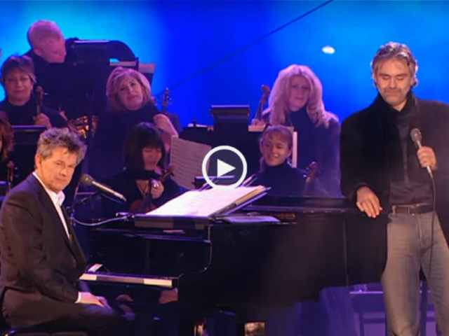Espetacular! Andrea Bocelli surpreendeu todos em Las Vegas!