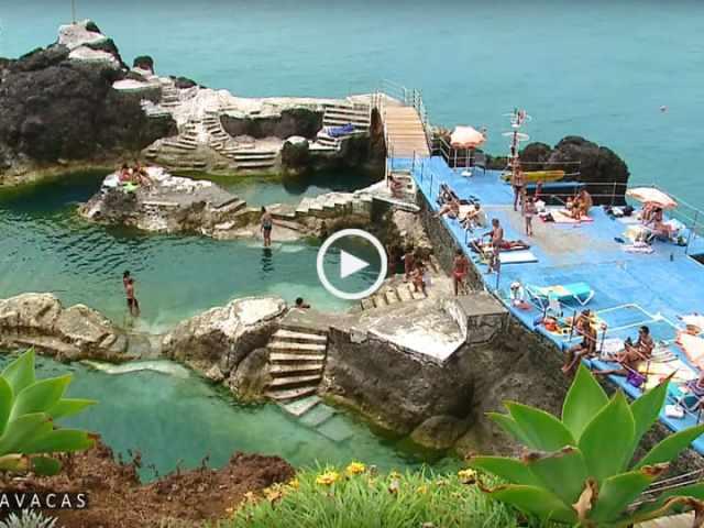 Ilha da Madeira: Praias e Piscinas deslumbrantes