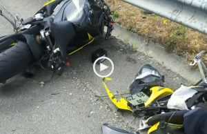 Espetacular acidente na A28