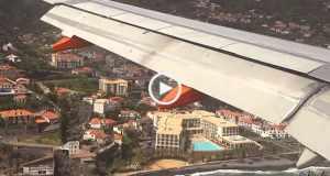 ATERRAGEM na Madeira