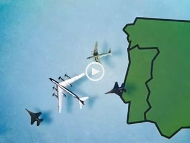 No dia em que Aviões Russos invadiram espaço aéreo português