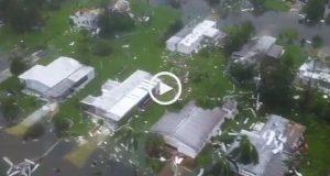 Furacão Irma, devastação em Naples 'Florida'