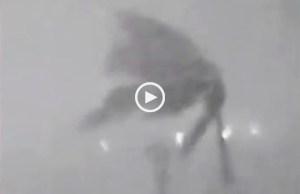 Irma, a força do furacão vista por uma webcam