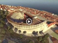 Era assim o Teatro Romano de Lisboa