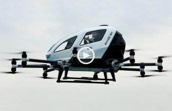 Estamos quase a poder ir para o trabalho de drone