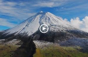 Nevão na Ilha do Pico 2018