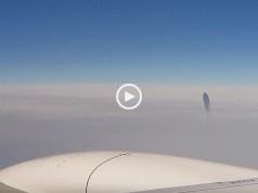 OVNI captado em vídeo num voo comercial
