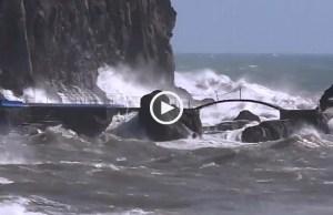 Tempestade Gisele deixa todo o país em alerta