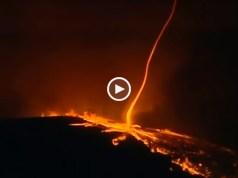Fenómeno raro filmado em Portugal durante incêndio