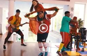 Música Paródia de apoio à Seleção Nacional: Ele joga gostoso