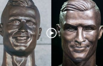 Novo busto de Cristiano Ronaldo