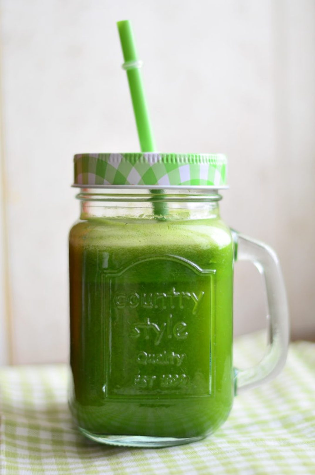Spinach & Pineapple Green Juice