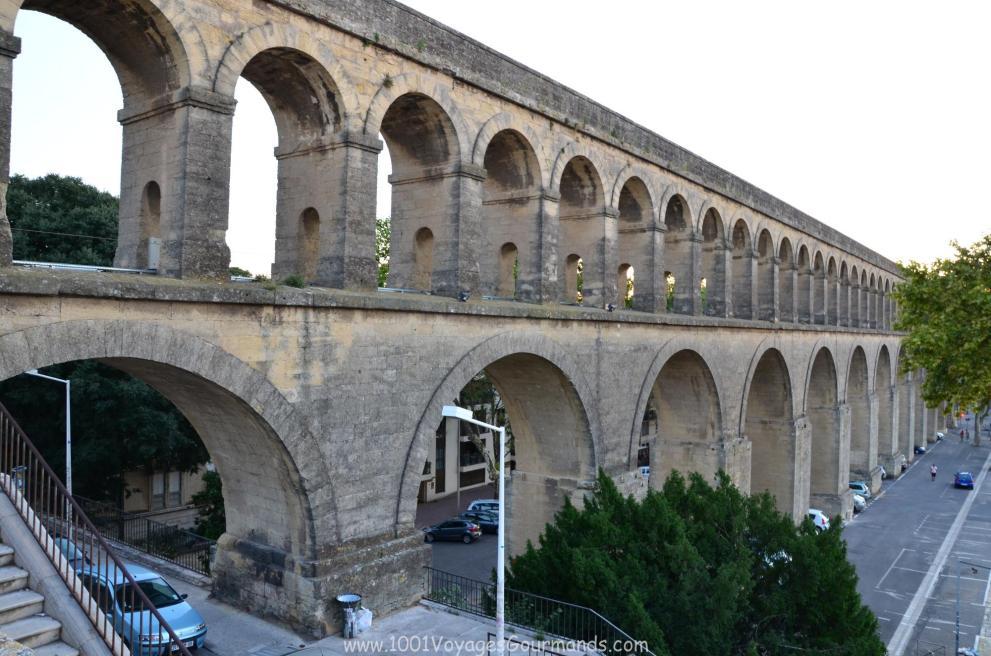 akvadukt v Montpellier
