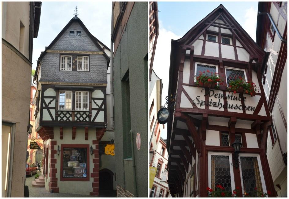 staré baráčky v Bernkastel-Kues
