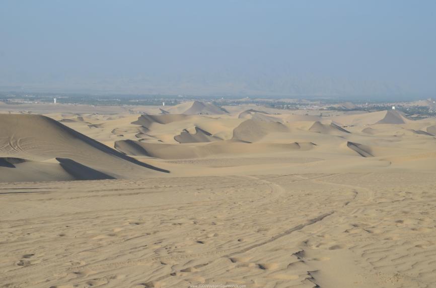 dunes in Huacachina