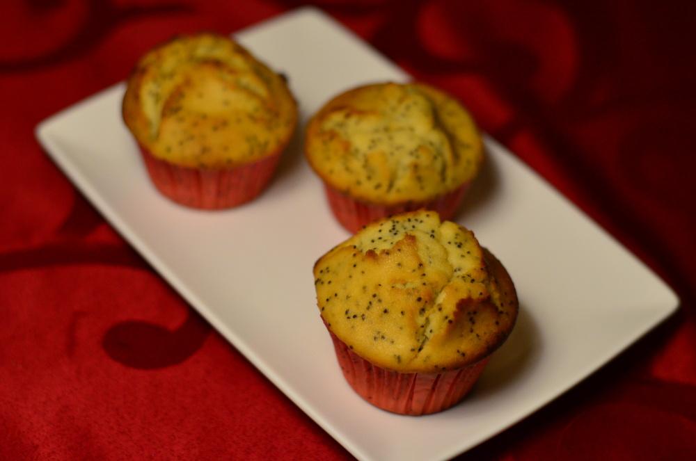 Citronove muffiny